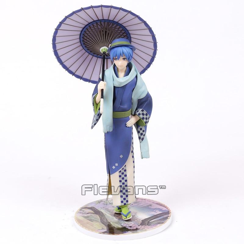 Vocaloid Series Kaito Hanairogoromo Kimono Flower Cloth 1/8 Scale PVC Figure Collectible Model Toy 23cm lass minnesota bicent series cloth
