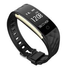 S2 Умный Браслет Bluetooth 4.0 IP67 Водонепроницаемый Монитор Сердечного ритма Смарт-Группы 0.96 дюймов OLED Экран Фитнес-Трекер