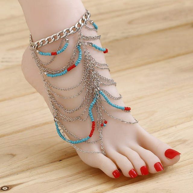 anklets female tips of rules fashionisers wearing bracelets rihanna to anklet style meanings wear how ankle
