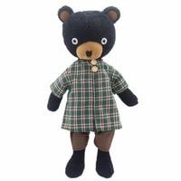 JESONN Stuffed Animals Bear Soft Plush Toys Teddy Bear Dressed Dolls for Baby and Kid's Birthday Gifts 33 CM