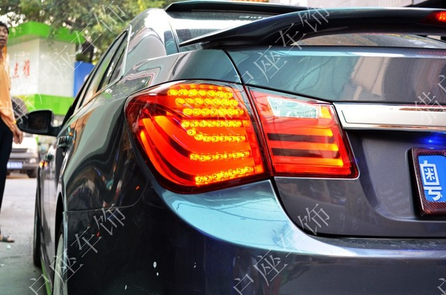 Cruze dedicated LED tail lights reversing lights rear lights