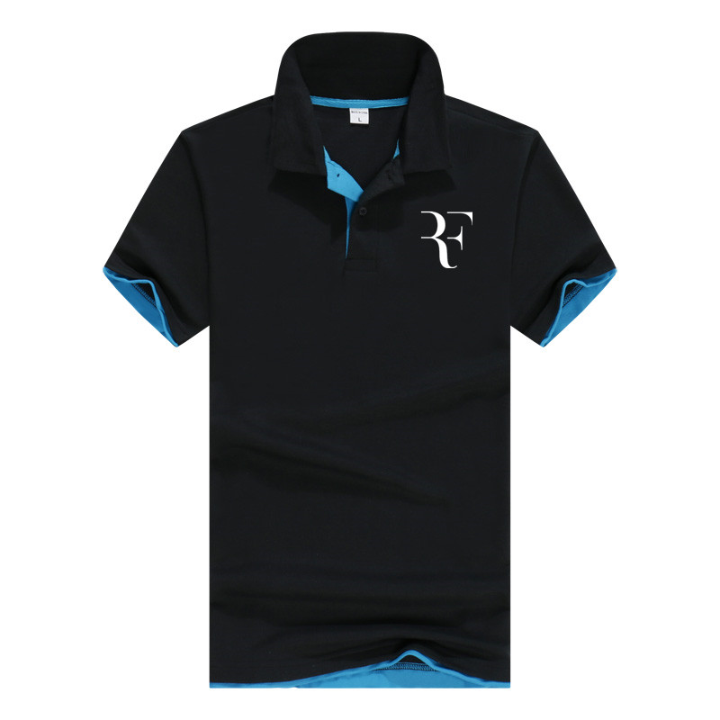 Men   Polo   Shirt Brand Mens 2018 New roger federer Arrival Hot Sale   Polo   Shirts Men Spring Summer 13 Colors Fashion Casual Short