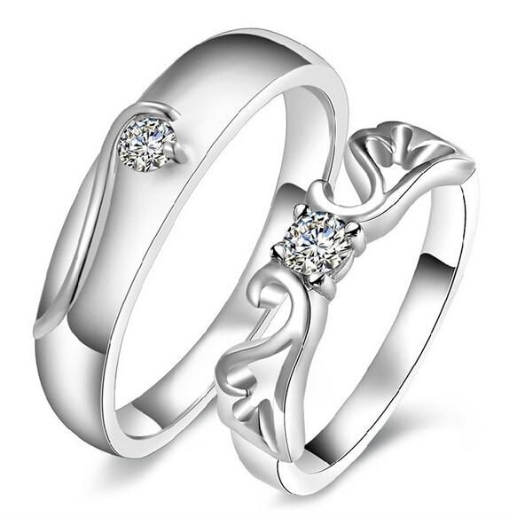 Aliexpresscom Buy Trendy Wedding Jewelry Couple Rings For Men