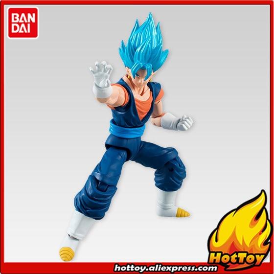 100% Original BANDAI Tamashii Nations SHODO Vol.5 Action Figure - Super Saiyan God SS Vegetto (9cm tall) from Dragon Ball Z