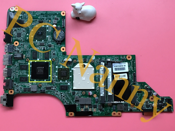 DA0LX8MB6E1 For HP Pavilion dv7 Notebook laptop motherboard with ATI Mobility Radeon HD4200