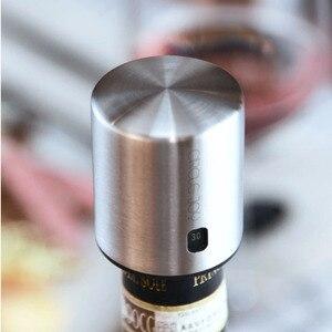 Image 3 - Abridor elétrico xiaomi mijia circle joy, abridor elétrico de aço inoxidável para garrafas, decantador, mini, rolha de vinho