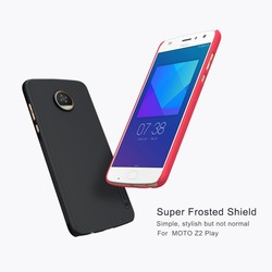 Cover Case For Motorola Moto Z2 Play Nillkin Frosted Shield Phone Cases Back Hard Cover PC Matte for Moto Z2 Play phone bag case