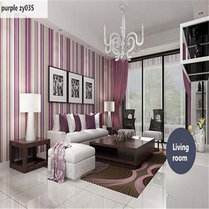 Wallpapers Youman 3D Photo Wallpaper Modern Contracted Stripe 3D Non-woven Wallpaper F Living Room Bedroom TV Background Wall modern pink blue white stripe wallpaper for kids room baby boy girl bedroom wall paper self adhesive non woven wallpapers qz037