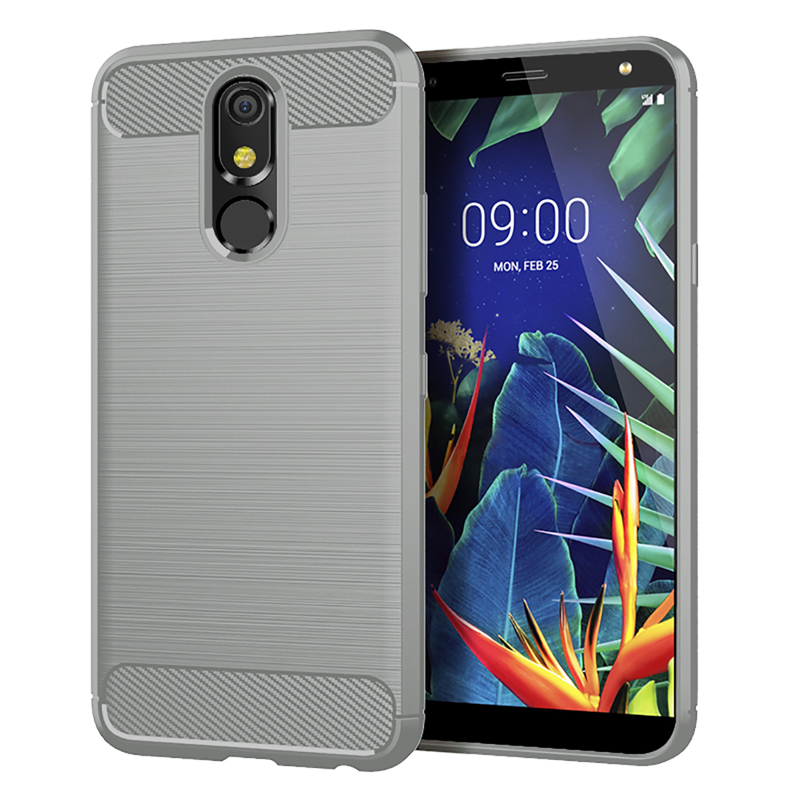 Case For LG G8S G6 G7 G8 ThinQ V30 V50 V40 V30S K40 K50 K10 K8 2018 Q9 One Q7 Q6 Q60 Q Stylus Aristo 3 W10 Carbon Fiber Covers-in Fitted Cases from Cellphones & Telecommunications on AliExpress