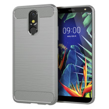 Case Voor Lg G8S G6 G7 G8 Thinq V30 V50 V40 V30S K40 K50 K10 K8 2018 Q9 Een Q7 q6 Q60 Q Stylus Aristo 3 W10 Carbon Fiber Covers(China)
