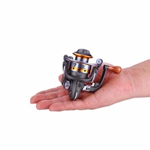 1pcs 5.5:1 BM15 Mini Fishing Spinning Reel 10 Ball Bearing Interchangeable Collapsible Handle Fishing Reels fishing accessories