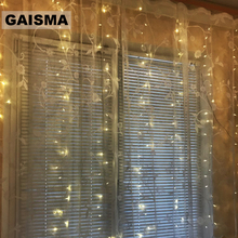 3M x LED Curtain Lights Garland Wedding Decorations Bedroom Christmas Fairy Party Home New Year Holiday Lighting