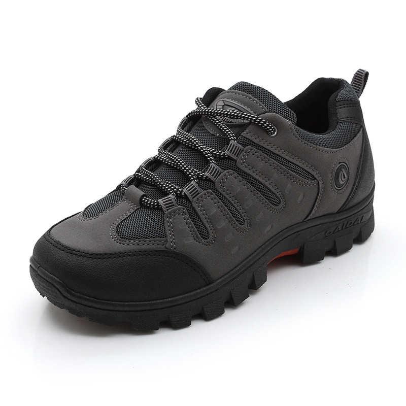 JXGXSX erkek iş ayakkabısı Açık Ayakkabı Erkek Örgü Ayakkabı kaymaz Aşınmaya dayanıklı Balıkçılık Ayakkabı Erkek Çöl Botları damla Nakliye
