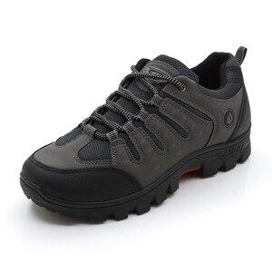 Image 3 - JXGXSX גברים של עבודה נעליים חיצוני נעלי ספורט גברים רשת נעלי החלקה ללבוש עמיד נעלי דיג זכר מדבר מגפי זרוק חינם