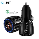Car USB Charger Quick Charge 3.0 Mobile Phone Charger Dual USB Fast QC 3.0 Car Charger for iphone Samsung Xiaomi Tablet Charger