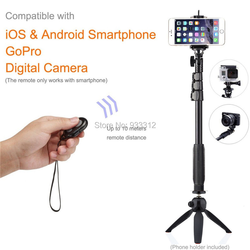 Bluetooth Camera Shutter+Tripod Original YUNTENG18-50