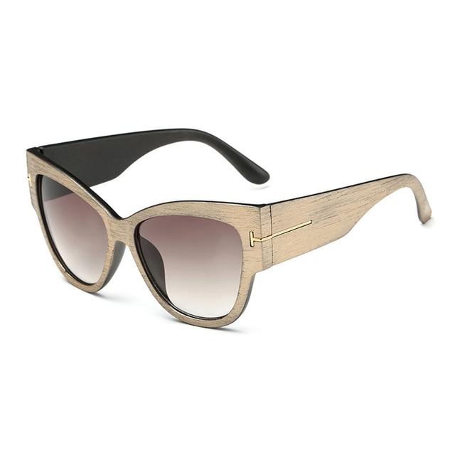 2016 New Fashion Cat Eye tf Sunglasses Women Brand Designer Vintage Luxury Street Snap Sun Glasses retro De Sol Feminino Gafas 8