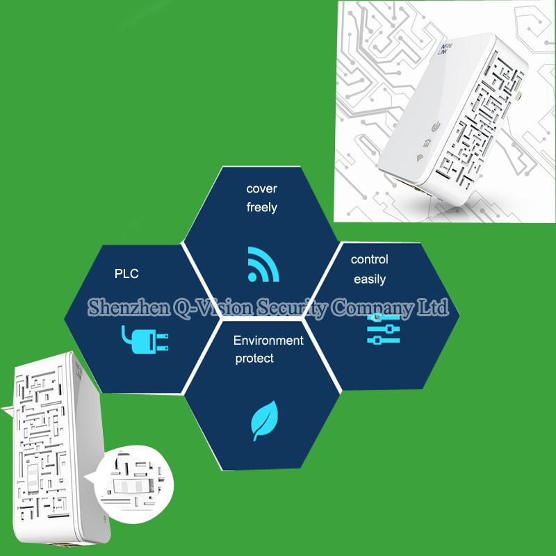 3-UKEUUS Broadlink DNA 200M Wireless WIFI Router Powerline Carrier Extender Wireless Smart Router WIFI Range Extender Automation