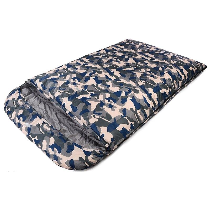 Bolsa de dormir con relleno de ganso blanco de 1000g para mochila ultraligera con bolsa de compresión ligera y 4 colores