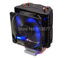Brass fan,2 heatpipe tower side-blown, CPU fan, CPU cooler, Intel LGA 775/1155/1156, AMD FM1/AM2/AM3/AM3+,Cooler Boss CAH-209-02
