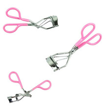 Lady Women Eyelash Curler Lash Curler Nature Curl Style Cute Curl Eyelash Curlers-Silver Beauty Tools