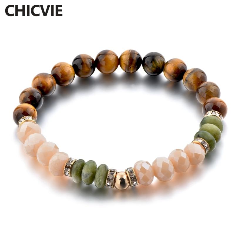 Купить chicvie дропшиппинг коричневые фотообои браслеты на заказ бусины