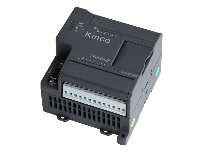 K504EX-14AR Kinco PLC K504EX 14AR CPU Module ,14 I/O, DI 8*DC24V, DO 6*Relay, Relay output ,HAVE IN STOCK,FAST SHIPPING xc e8x8yt xinje xc series plc digital i o module di 8 do 8 transistor new in box