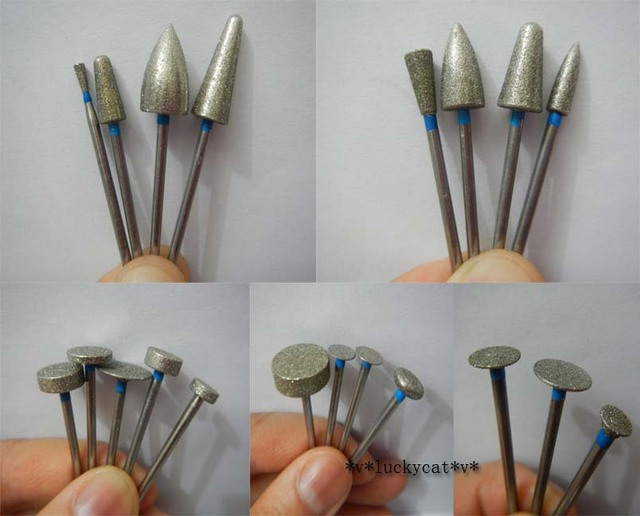 20 stks/set Dental Lab Diverse Diamant Burs Millers Tooth Drill Juweliers 2.35mm Nieuwe