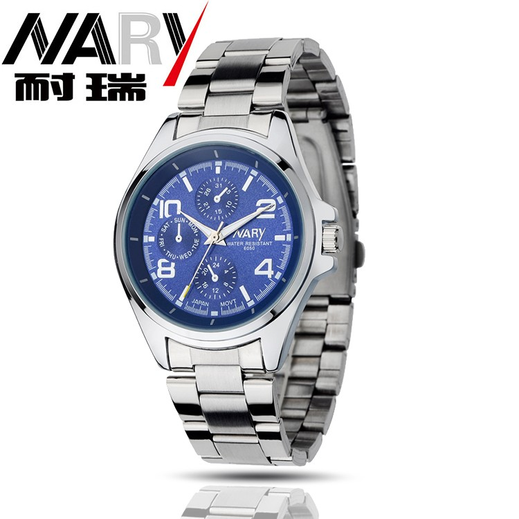HTB1j6xwJFXXXXaAapXXq6xXFXXXP - Nary Часы мужчины люксовый бренд Бизнес часы кварцевые часы спортивные мужчины полный стали наручные часы Повседневное часы Relogio Masculino 2016