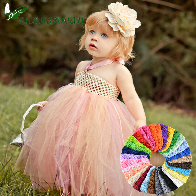 7x15cm Tulle Spool Tutu Crochet Chest Wrap Tube Tops Apparel Sewing Knit Fabric Baby Shower Girl Birthday Gifts Headbands Skirt-in Party DIY Decorations from Home & Garden on Aliexpress.com | Alibaba Group