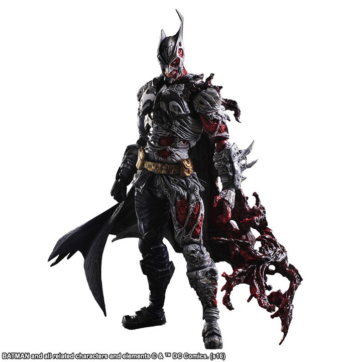 Batman Play Arts Kai PVC Action Figure Toy Two-Face 270mm Anime Movie Bat Man Playarts Kai Rogues Gallery halo 5 guardians play arts reform master chief action figure