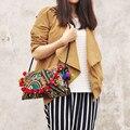 Frete Grátis! Mulheres carrybag do um-ombro sacos de Senhora Bordado bordado bolsa de ombro cross-corpo na moda Quente sacos