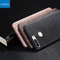 X Level Original Slim Phone Case For Huawei Honor 8 Pro Honor V9 Luxury Vintage Leather