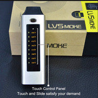 2pcs Lot LVsmoke Original Dry Herb Vaporizer Electronic Cigarette Kit Dry Wax Herbal Vaporizer E Cigarettes
