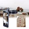 Novo kit de Lentes Da Câmera Do Telefone Tripé 12x Zoom Óptico de Telefoto telescópio lente para meizu lenovo nokia sony huawei lg asus Clips