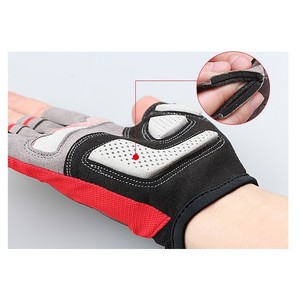 Image 2 - GUB 2099 ครึ่งนิ้วขี่จักรยานถุงมือกีฬากลางแจ้ง MTB กันกระแทก Non SLIP Breathable ผู้ชายผู้หญิงถุงมือสำหรับจักรยานจักรยานถุงมือ
