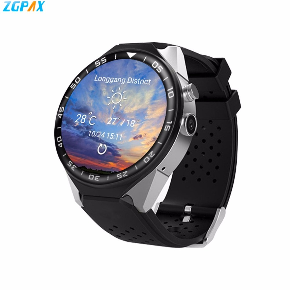 цены ZGPAX S99C Android 5.1 Smart Watch Phone Support 3G Wifi Wristwatch SIM Card IPS HD touch screen Smartwatch For iOS Xiaomi