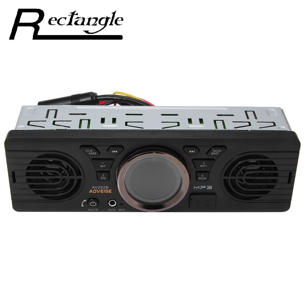 AV252B Newest 12V Bluetooth 2 1 EDR Vehicle Electronics In dash MP3 Audio Player Car Stereo