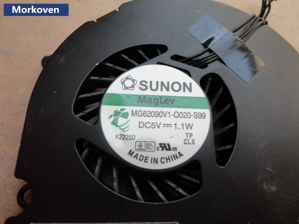 "OEM Macbook PRO 15.4/"" Unibody 2.4 2.53 2.8GHz Right CPU Fan NEW"