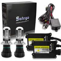 Safego Bi-xenon H4 pro canbus HID-xenon-kit 12V AC 4300K 5000K 6000K 8000K 10000K H4-3 Hallo Lo H4 Bi xenon kit H4 bixenon hid kit