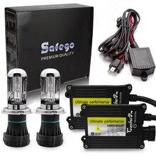 Safego Bi xenon H4 pro canbus HID xenon ชุด 12V AC 4300K 5000K 6000K 8000K 10000K H4 3 Hi Lo H4 Bi xenon ชุด H4 bixenon hid kit