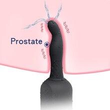 все цены на Enema Silicone Anal Plug for Anus Massager Dildo Masturbator for Male Female Vaginal Prostate Cleaner Vibrator Adult Sex Toys онлайн