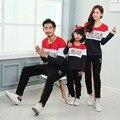 2016 Família Combinando Roupas Outono T-Shirt Da Família Olhar Roupas Combinando Roupas Filha Da Mãe de Família Roupas Combinando Quente XXL