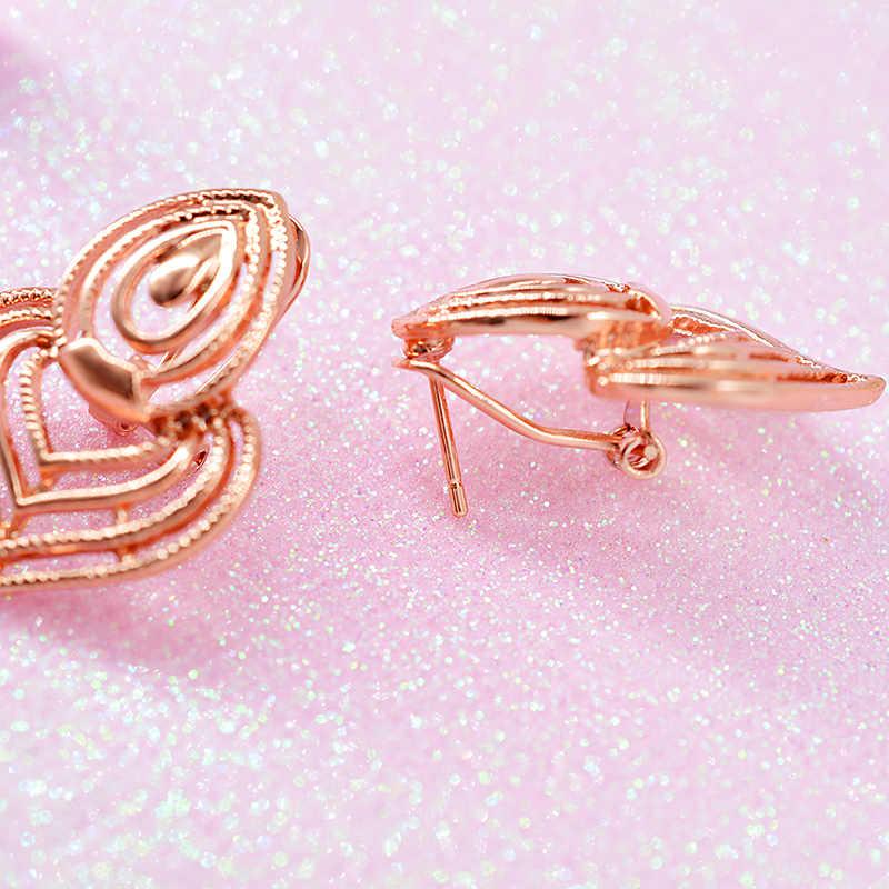 Bijoux ensoleillés vente chaude ensemble de bijoux pour femmes boucles d'oreilles collier pendentif nouvelle arrivée bohême résultats de bijoux pour cadeau de mariage