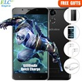 Blackview P2 4 Г Смартфон Android 6.0 MTK6750T Octa Ядро 5.5 ''FHD 4 ГБ + 64 ГБ 6000 мАч Батареи 8MP + 13MP Отпечатков Пальцев Мобильный Телефон