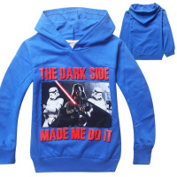 STAR WAR Children Kids Boys Hoodies Sweatshirt Spring Autumn Children Boys Clothing Boys Hoodies Clothes Vestidos