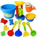 13 pçs/lote areia ferramenta de jogo plástico Kid praia brinquedos de banho brinquedos presente de natal para crianças S20