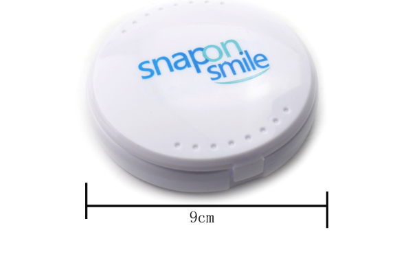 Free Shipping Snapon Smile Simulated Braces Whitening Tooth Sticker  Silicone Nail Braces Protection Tools Clean Oral Tooth