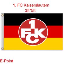 1 piece Deutschland (Bundesliga) 1. FC Kaiserslautern decoration Flag B 3ft*5ft (150cm*90cm)