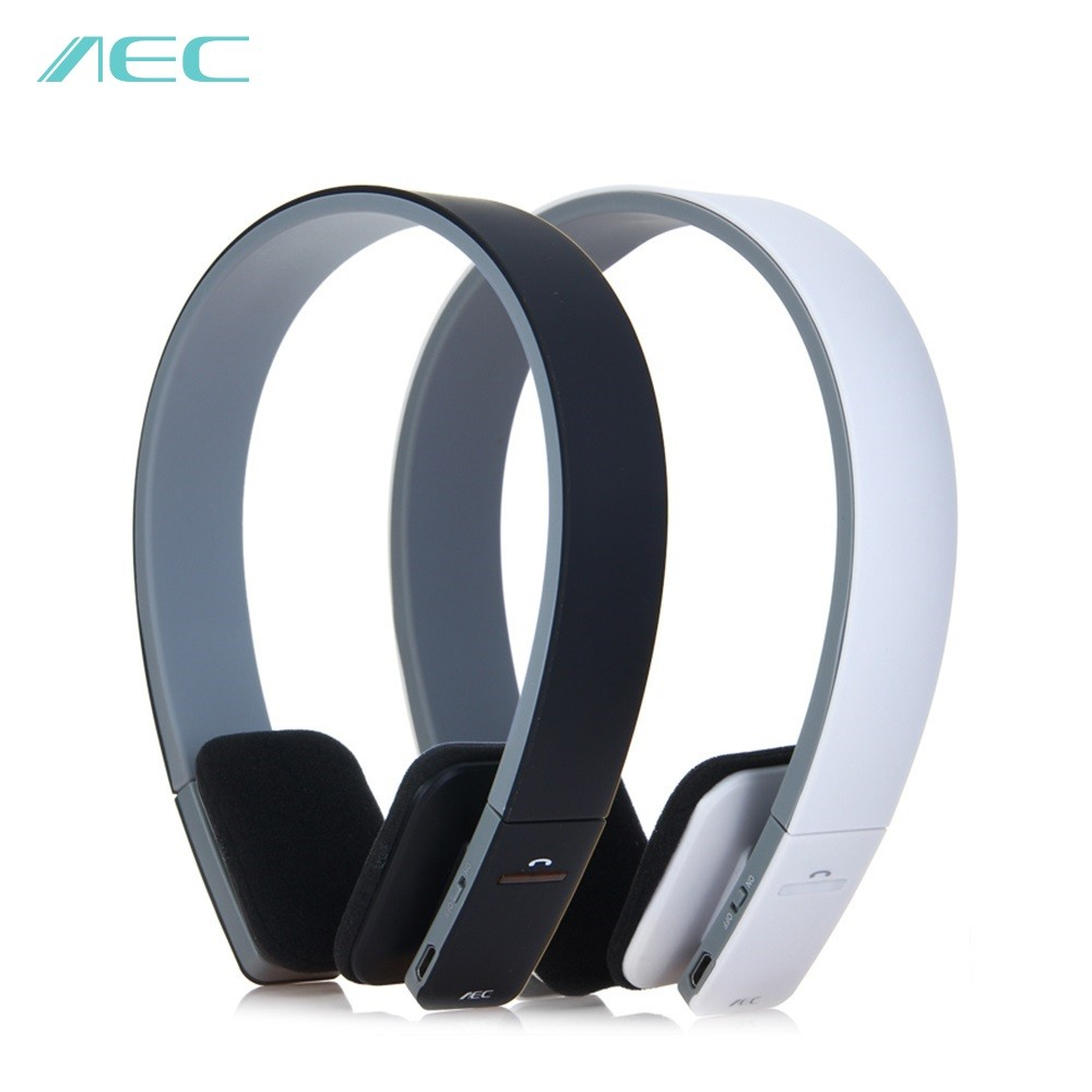 AEC HOT BQ618 Noise Reduction Wireless Bluetooth Stereo Headphone Earphone Headset Portable Sport with Mic for iPhone 8 X Xiaomi